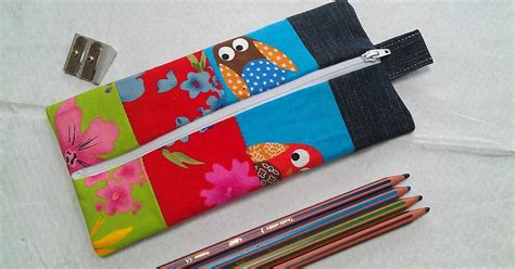 Patchwork Pencil - berry bakewell patchwork pencil