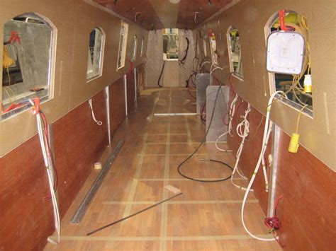 boat carpet layers building an aluminium narrowboat part 4 living on a
