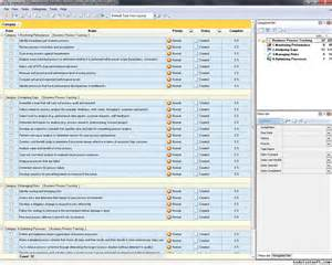 business process tracking checklist to do list