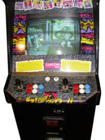 Street Fighter Ii Arcade Cabinet Street Fighter Ii The World Warrior Videogame By Capcom