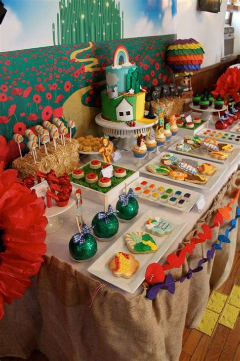 Richies Oz Themed Baby Shower by Wizard Of Oz Baby Shower Ideas Photo 17 Of 36