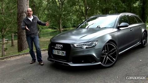 Audi Rs6 Youtube by Essai Audi Rs6 Youtube