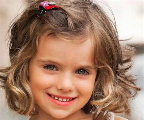 Short Hairstyles for Curly Hair Girls Kids   New