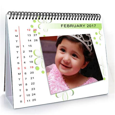 Personalized Desk Calendar Personalised Desk Calendars Send Personalised Desk