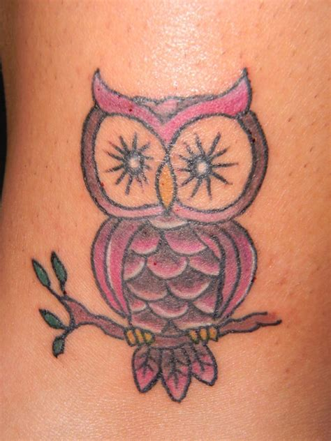 little owl tattoo owl tattoos