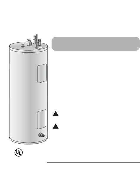 richmond power vent water heater lockout rheem water heaters manual step 1 image of bradford