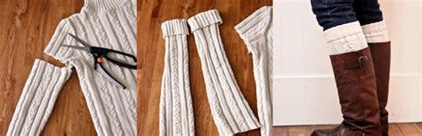 diy pageant socks repurposing sweaters 10 cool things to make this winter