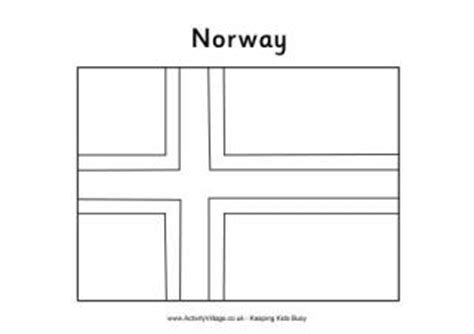 norway christmas coloring page norway flag printables