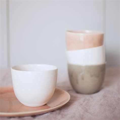 design cups objects of design 128 blush ceramics from ebury mad