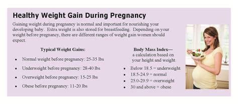 weight management during pregnancy pregnancy healthy weight gain