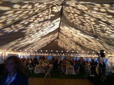 decorative gobo imaging   ceiling   tented
