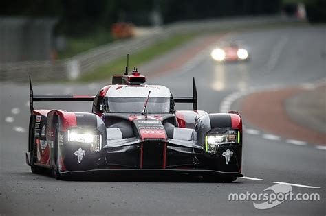 alan day audi mcnish impressed by audi run pace on le mans test day