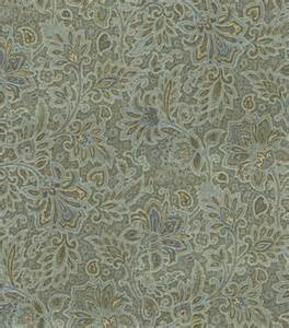 upholstery fabric waverly parlour paisley blue at