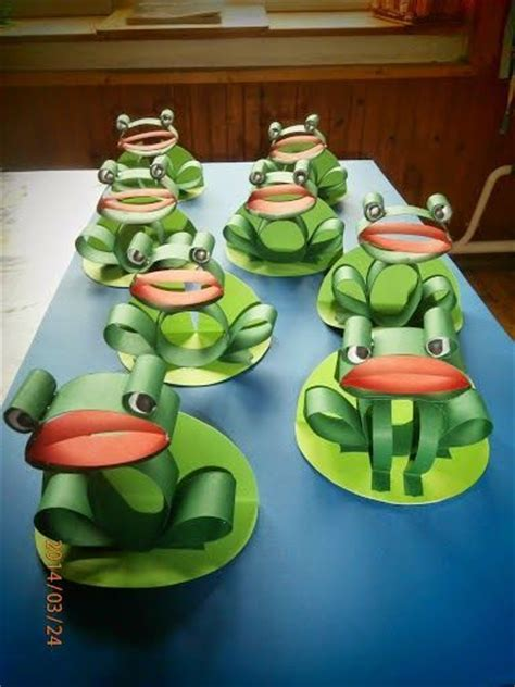3d Origami Frog - 3d paper frogs and crafts for