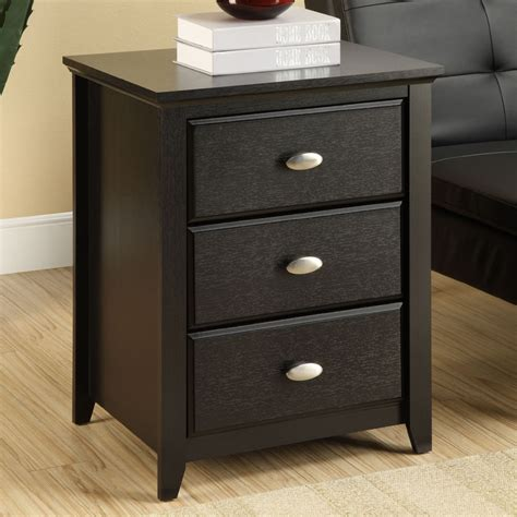 Tables With Drawers altra chelsea end table with 3 drawers 5906096