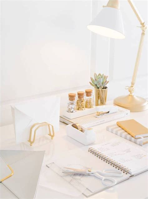 white and gold computer desk white gold desk office pinterest white gold desks