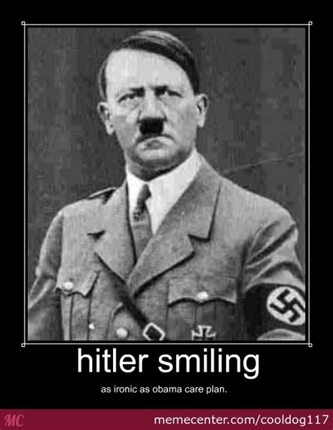 Funny Hitler Memes - hitler smiles by cooldog117 meme center