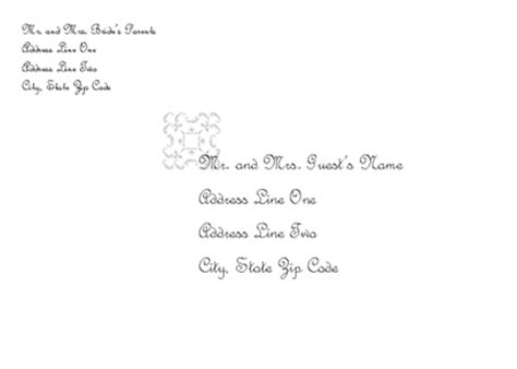 Download Wedding Invitation Envelope Juliet Design Free Envelope Templates For Microsoft Word Invitation Envelope Template Word