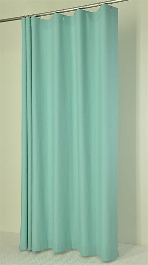 aqua shower curtains aqua linen shower curtain for the home pinterest