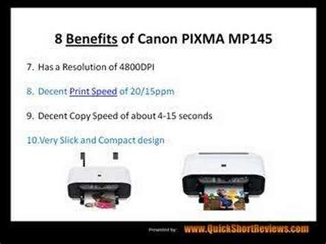 canon pixma mp145 resetter software canon pixma mp145 review 8 benefits youtube