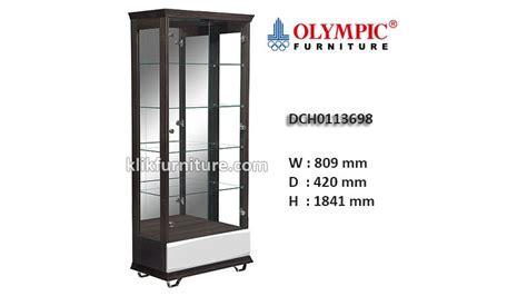 Sofa Minimalis Olympic dch0113698 lemari hias kaca olympic new
