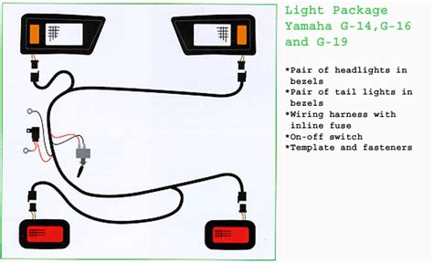 wiring diagram for golf cart lights wiring diagram with