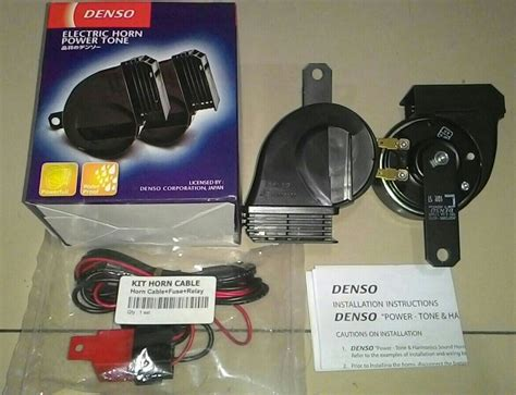 Klakson Keong Waterproof Denso Relay Harga Murah jual klakson denso keong quot waterproof quot kabel set relay lengkap nz023 accessories