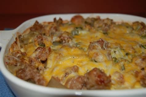 sausage and potato bake recipe dishmaps