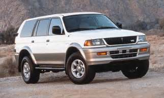 Mitsubishi Montero Sport 1999 1999 Mitsubishi Montero Sport Review
