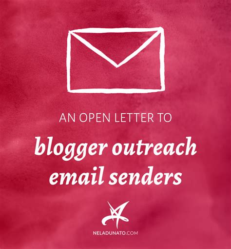 blogger outreach email an open letter to blogger outreach email senders nela