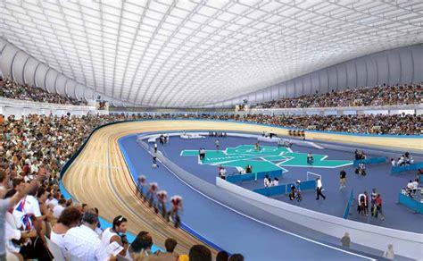 london velodrome  olympics velopark  architect