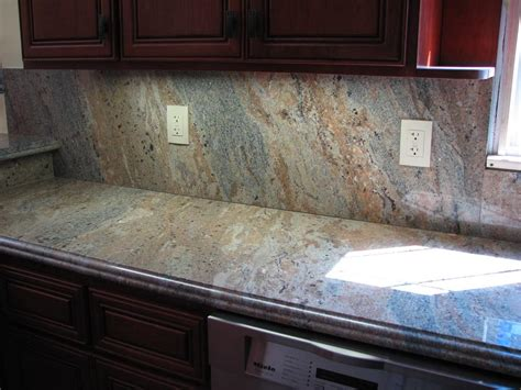 kitchen counter backsplash best kitchen backsplash ideas with granite countertops