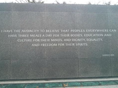 Martin Luther King Memorial 14 Quotes