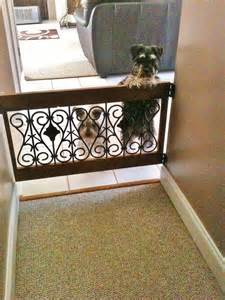 Decorative Dog Gates Decorative Dog Gate I Love It Amp Them Things We Ve