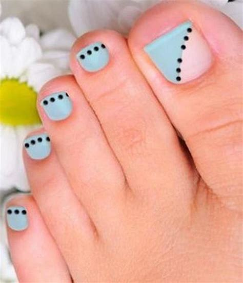 outstanding nail ideas plus 20 easy simple toe nail art designs