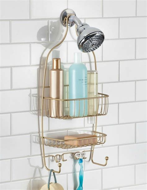 Bathroom Shower Organizer 20 Ways To Bling Up Your Home With Copper Gold And Brass Living In A Shoebox