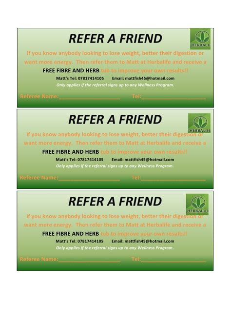 refer a friend coupon template referral voucher