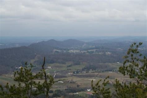 house mountain tn view from the rock outcrop on the eastern end of the summit trail picture of knoxville