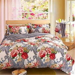 gray and floral inexpensive retro comforter sets