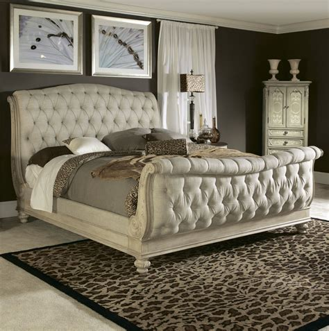 sears beds white queen sleigh bed from sears com