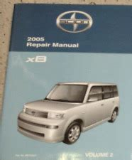 Scion Repair Manual Ebay