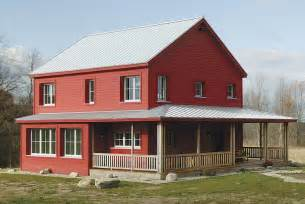 Fine Homebuilding Login A Super Energy Efficient Prefab Rural Farmhouse