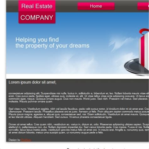 real estate company profile template real estate company template free free website templates