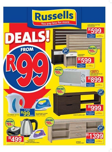 russells catalogue specials  mar   apr