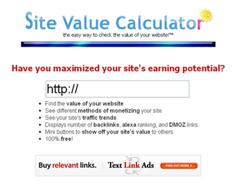 free highly useful tools to help you calculate the value