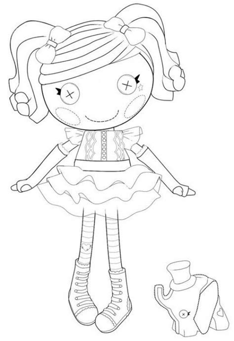 lalaloopsy coloring pages mittens the best lalaloopsy dolls coloring pages