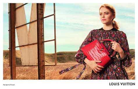 emma stone popstar emma stone s louis vuitton caign is out popstar