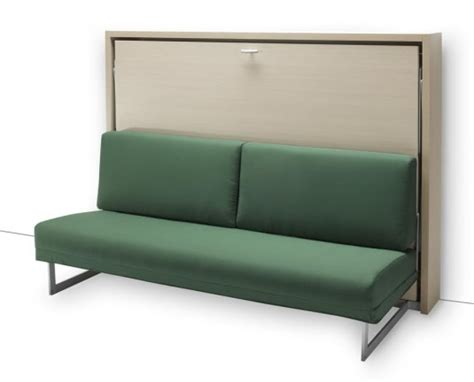 bed and couch in one italian wall bed sofa murphysofa smart furniture