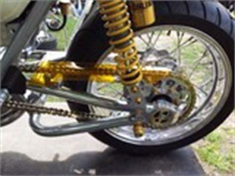 Kettenspannung Beim Motorrad by Biker De Kettenantrieb Kettentrieb Motorradtechnik