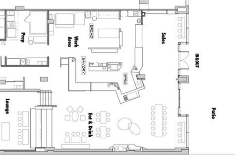 cake shop floor plan baked wired s mount vernon triangle project floor plans
